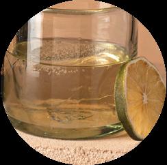 los arango reposado served neat with lime
