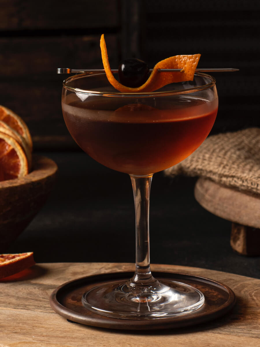 Guanajuato Manhattan cocktail