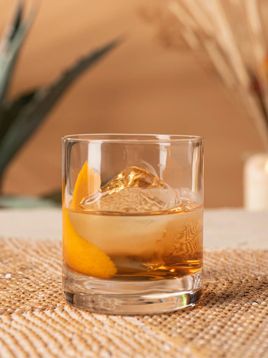 Añejo Old Fashioned cocktail