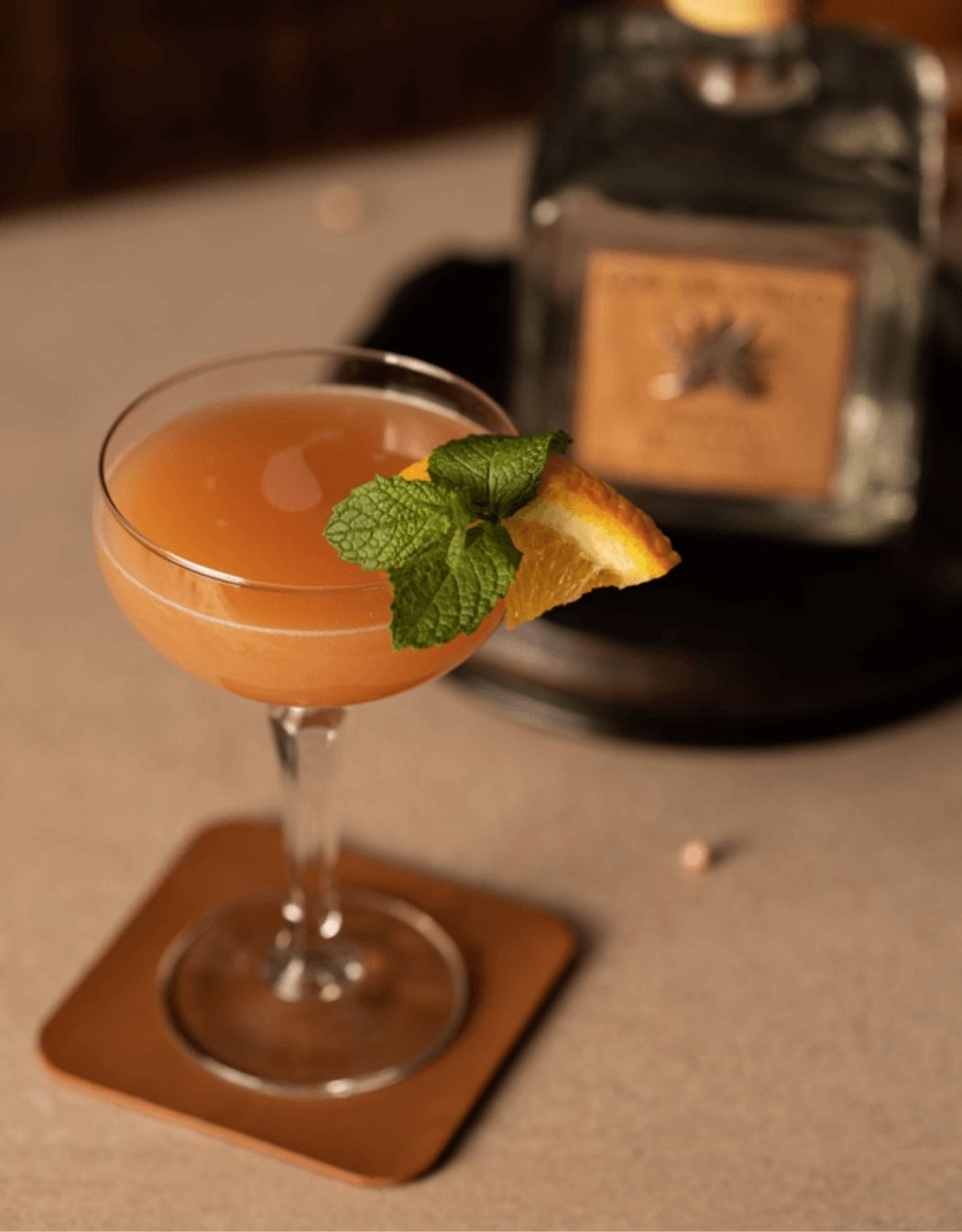 The Muse cocktail